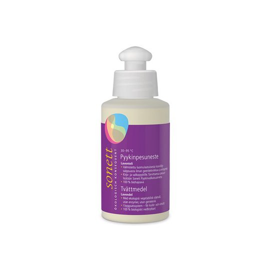 Sonett Ekologiskt Flytande Tvättmedel Lavendel