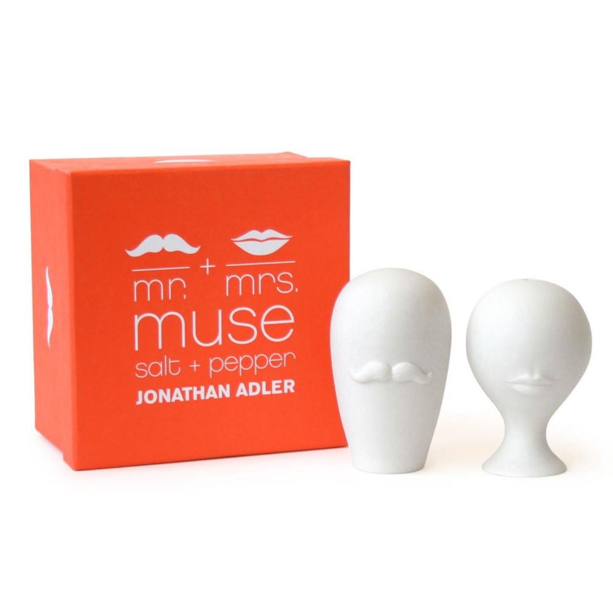 Jonathan Adler I Muse Salt & Pepper Set MR & MRS