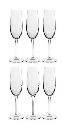 Aero Champagneglas 23,5 cl 6-pack
