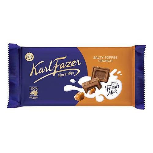 Karl Fazer Salty Toffee Crunch