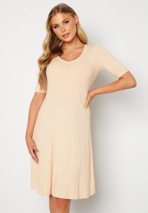 Happy Holly Lindsey dress Beige melange 32/34