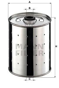 Öljynsuodatin MANN-FILTER PF 915 n