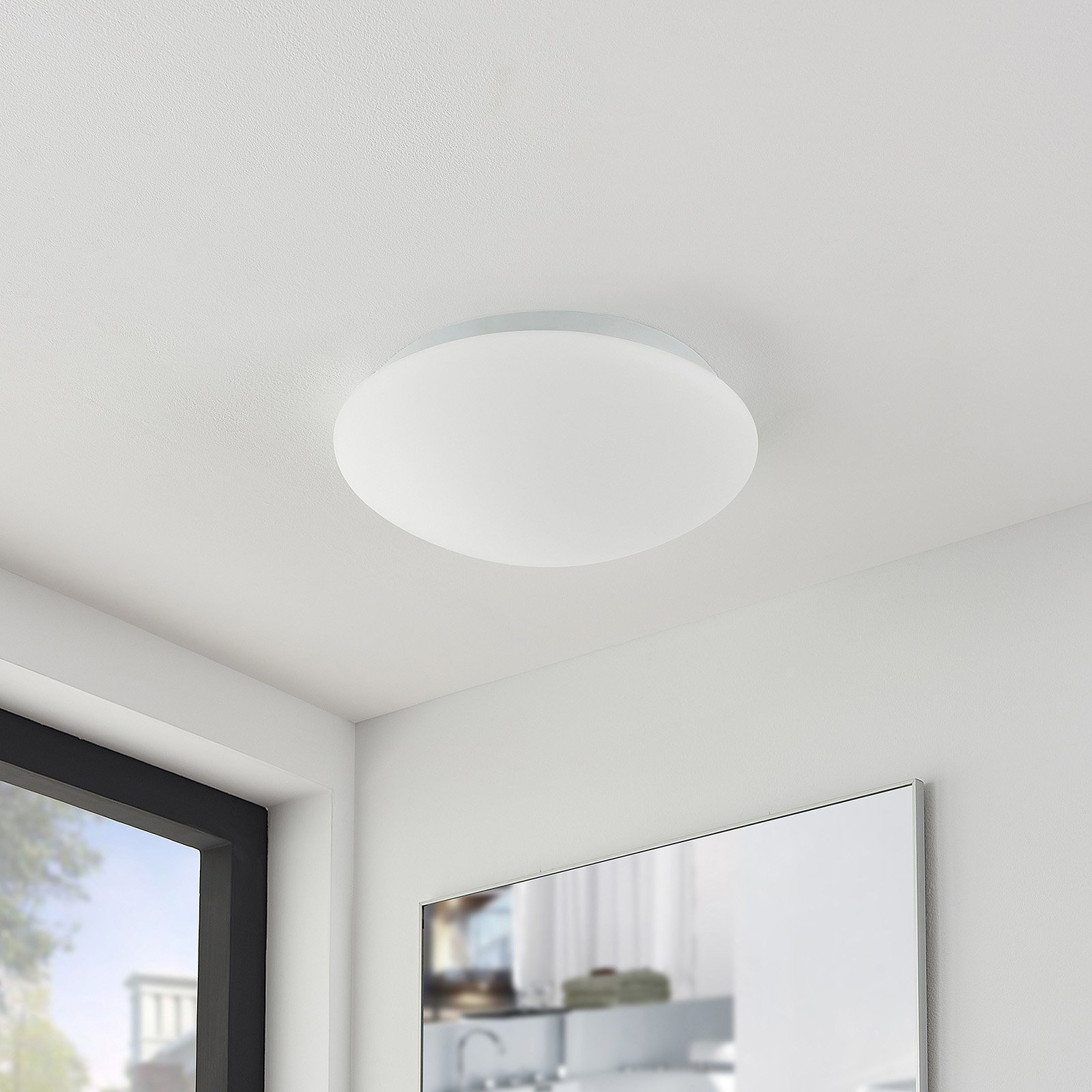 Arcchio Marlie LED-taklampe, IP44, 3 000 K