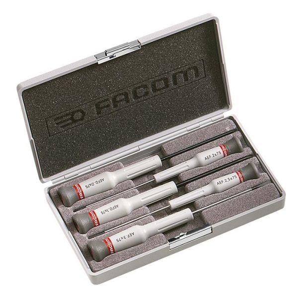 Facom AEF.J5 Ruuvitalttasarja Micro-Tech, 5 osaa