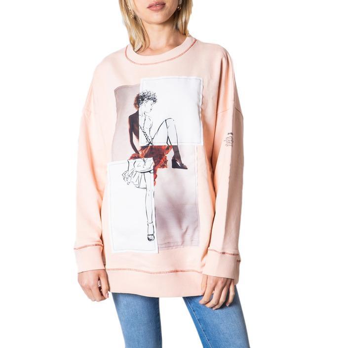 Desigual Women's Sweater Pink 175884 - pink M