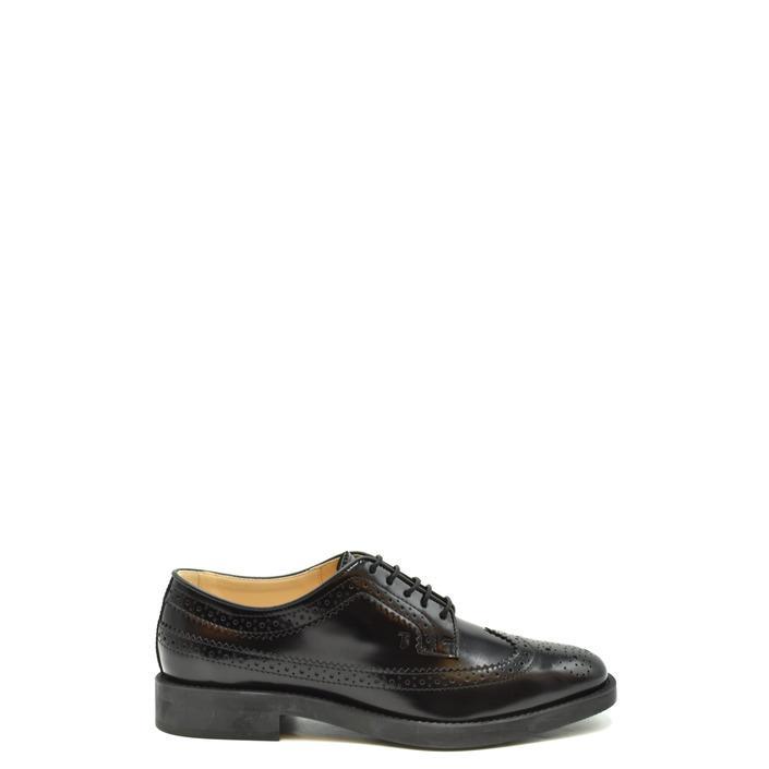 Tod`s Women's Lace Up Shoe Black 186058 - black 40