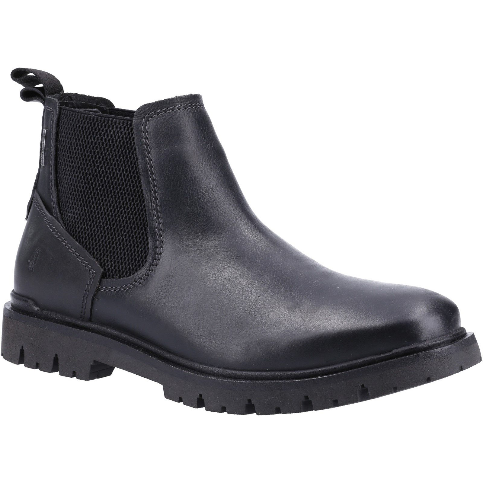 Hush Puppies Men's Paxton Chelsea Boot Various Colours 32882 - Black 10