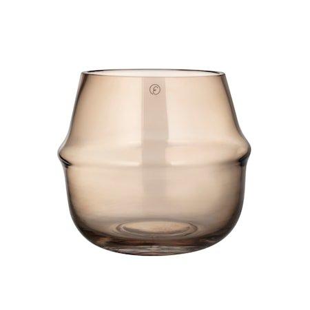 Lyslykt Glass Rav 15 cm