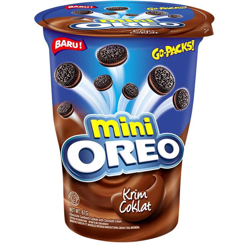"""Kex """"Oreo Mini Chocolate"""" 67g - 50% rabatt"""