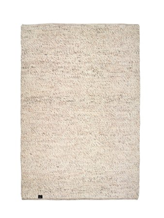 Merino teppe - Natural beige, 140x200
