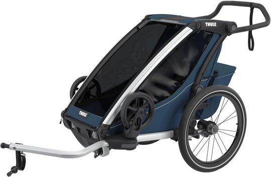 Thule Chariot Cross 1 Sykkelvogn, Majolica Blue