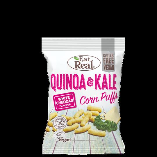 Quinoa Puffs White Cheddar, 113 g