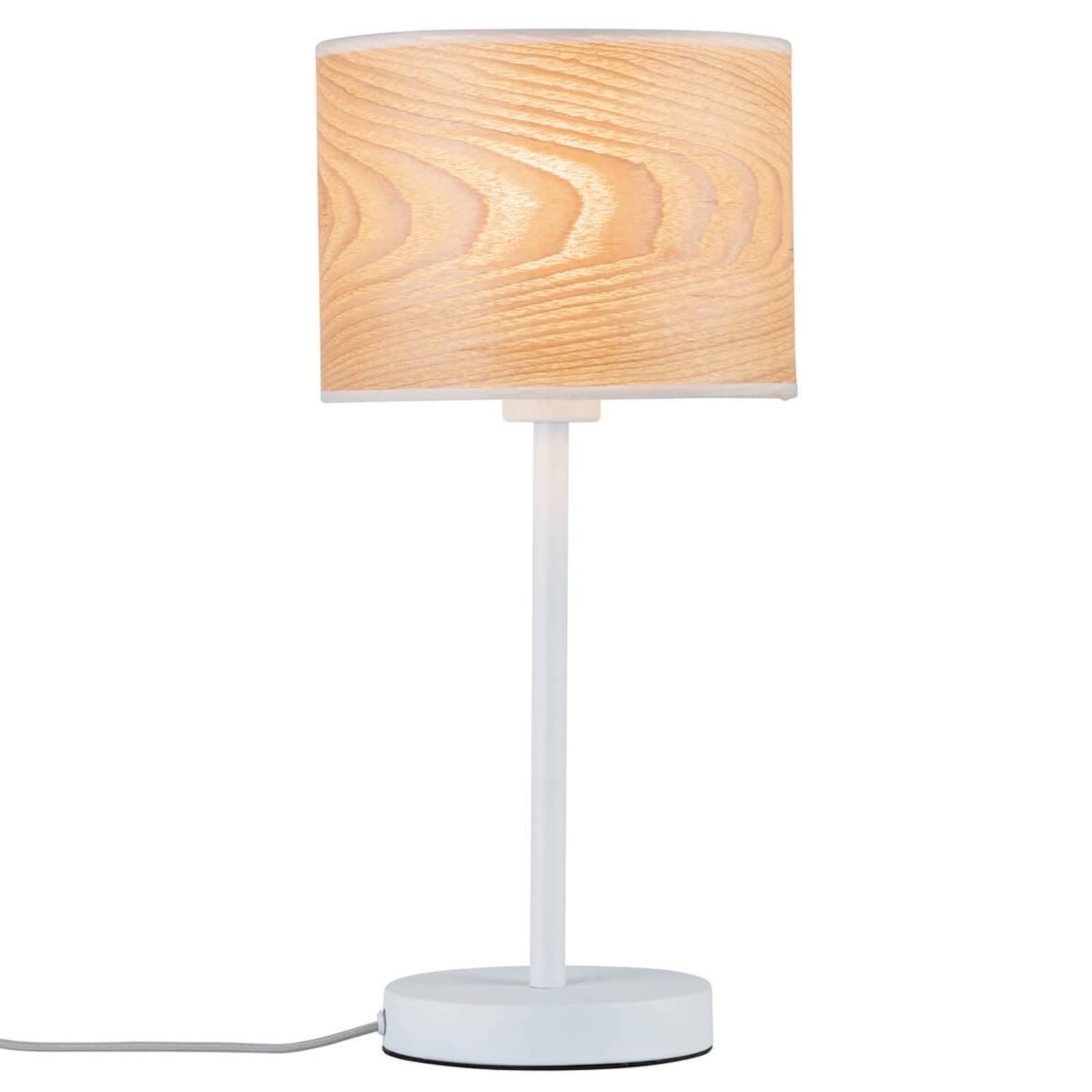Et ekte naturprodukt - bordlampe Neta i tre
