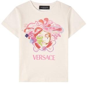 Versace Medusa Print T-shirt Vit 4 år