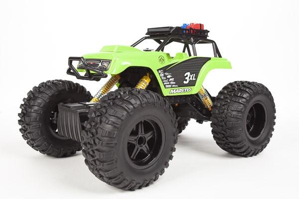 Maisto - Rock Crawler 3XL R/C 2,4GHz (Li-ion+USB) - Green (140038)