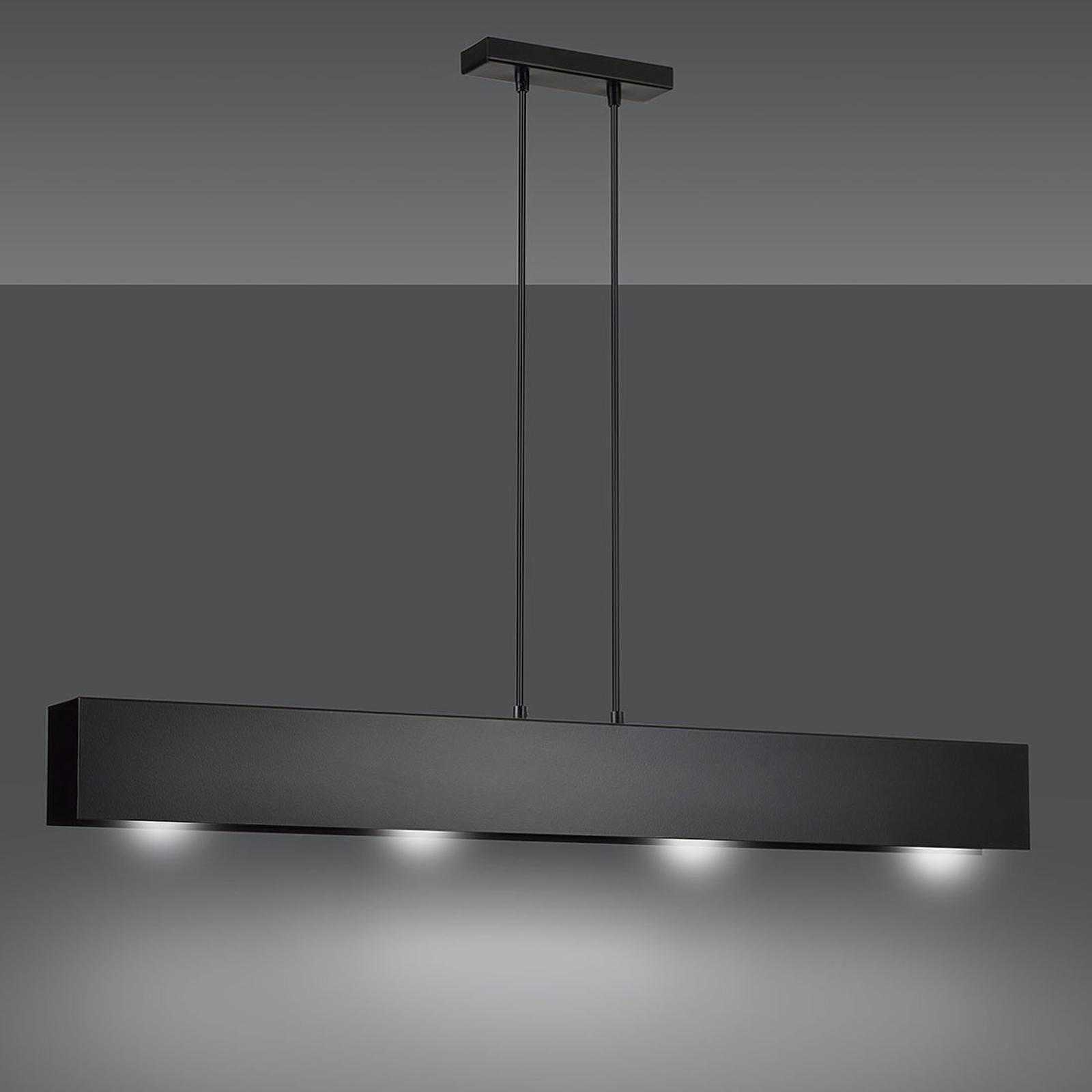 Riippuvalo Gentor 4, pituus 96 cm, musta
