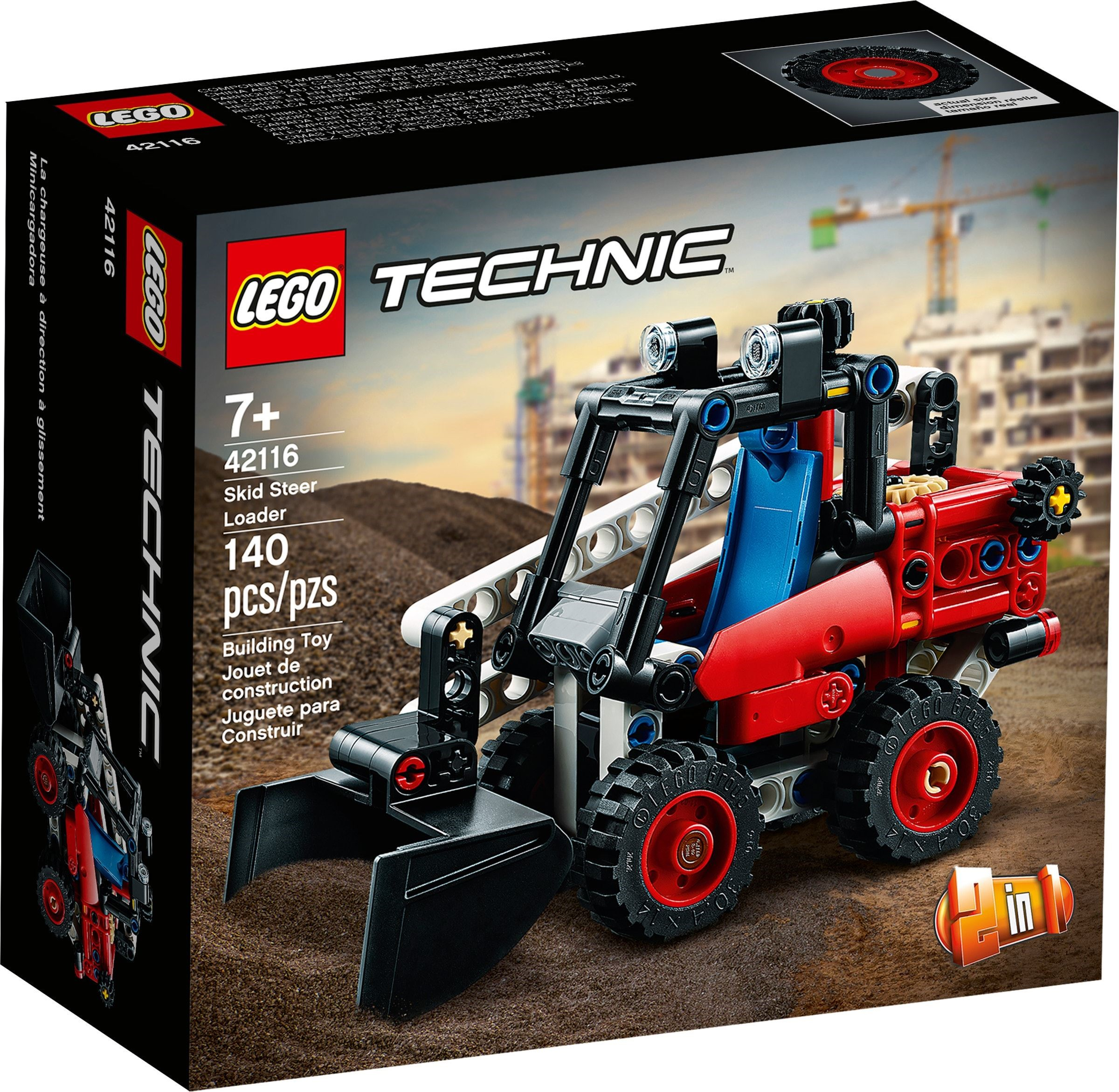LEGO Technic - Skid Steer Loader (42116)