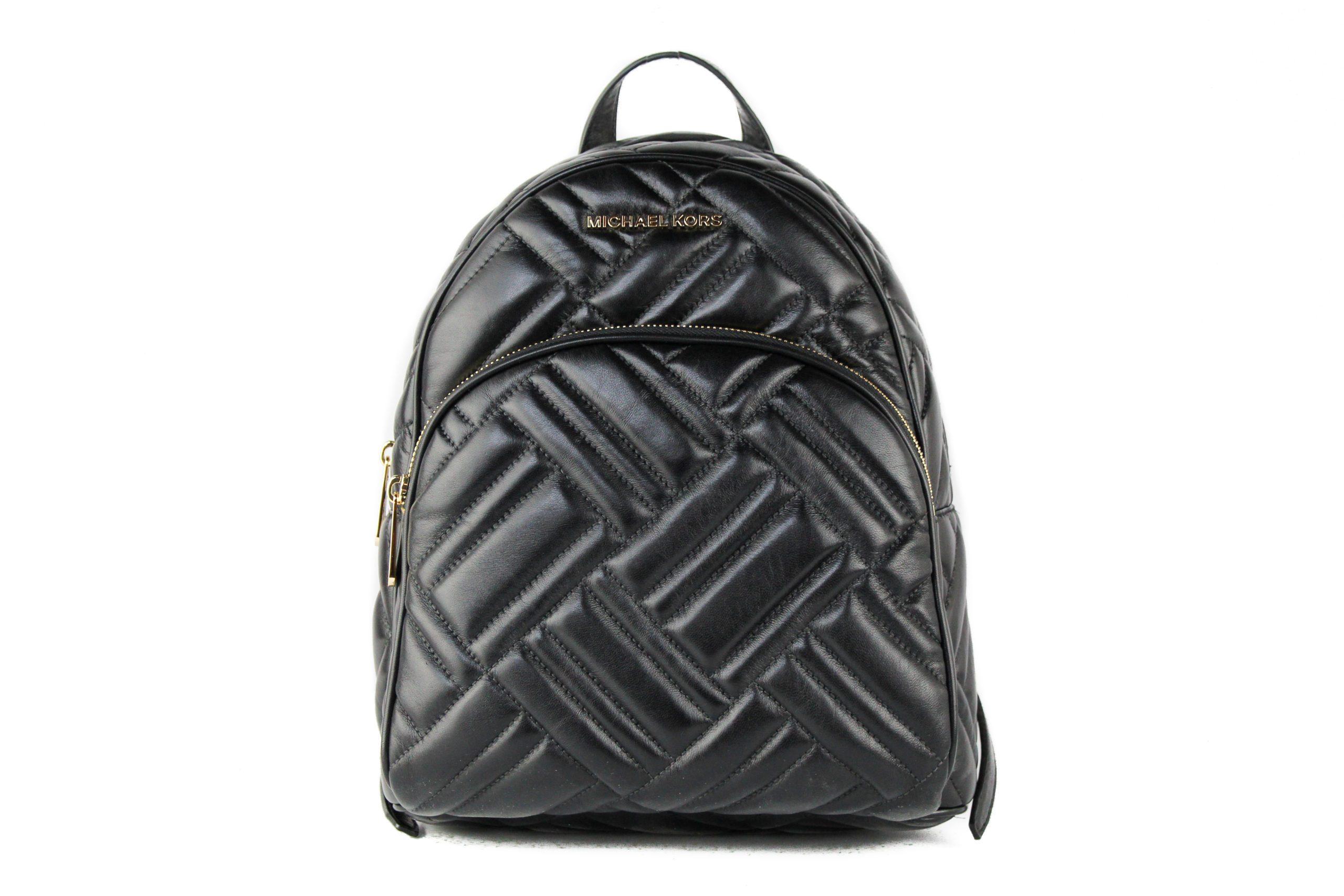 Michael Kors Women's Abbey Backpack Black 22085