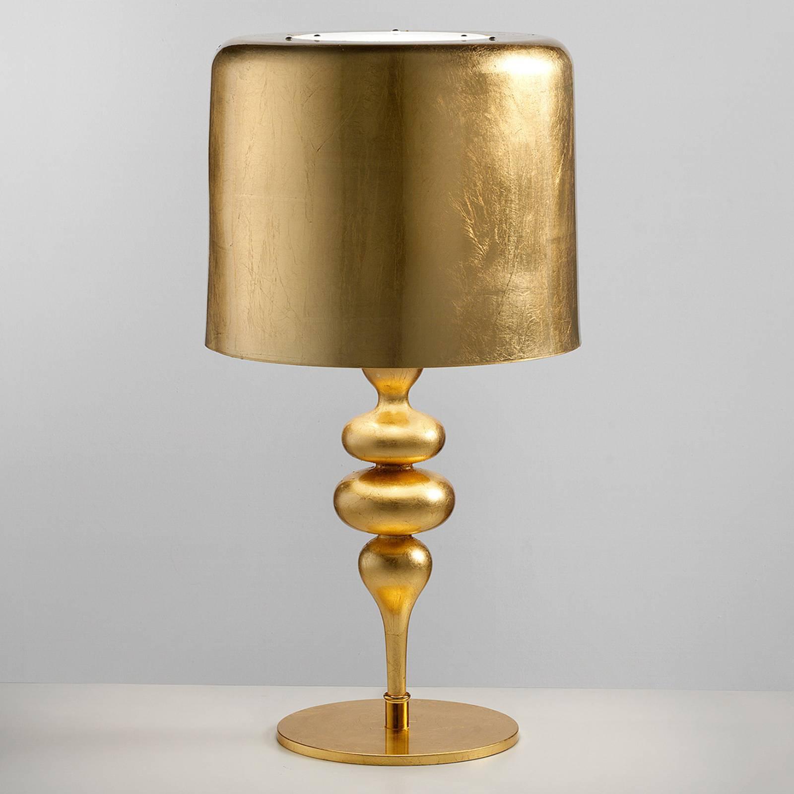 Bordlampe Eva TL3 + 1G 75 cm, gull