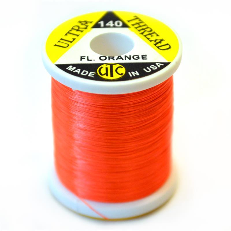 UTC bindetråd 140D - Fluo Orange