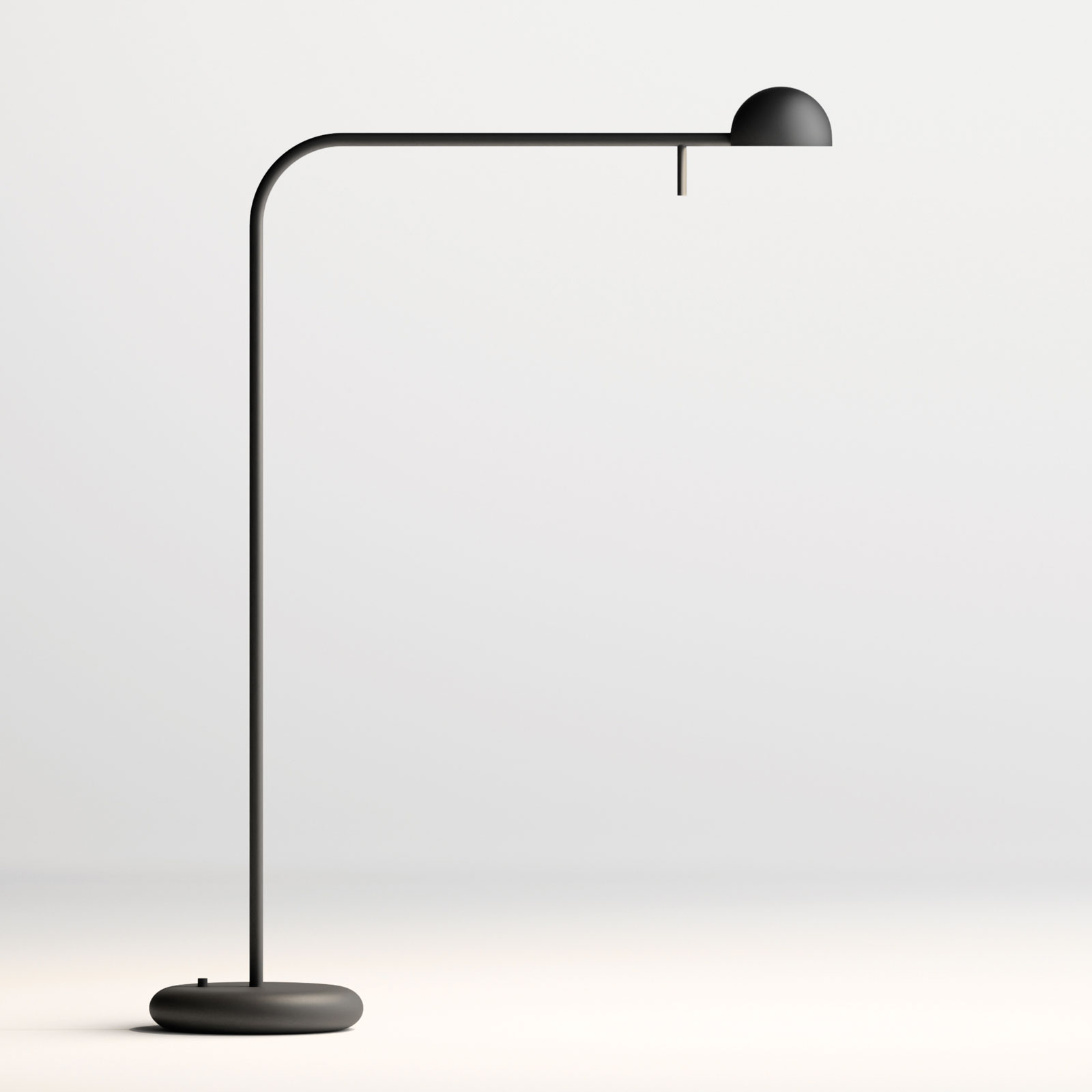 Vibia Pin 1655 LED-pöytävalaisin pituus 40cm musta