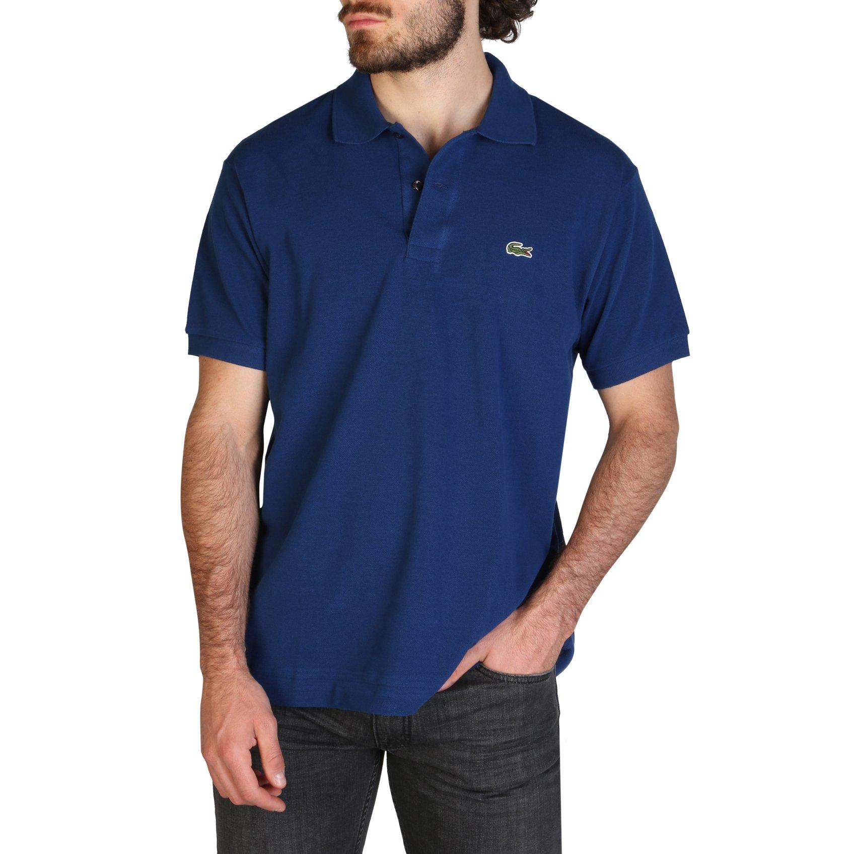 Lacoste Men's Polo Shirt Various Colours L1212_REGULAR - blue-2 L