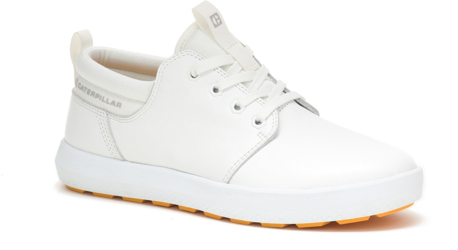 CAT Lifestyle Men's Code Proxy Lace Trainer Various Colours 32263 - Star White 8