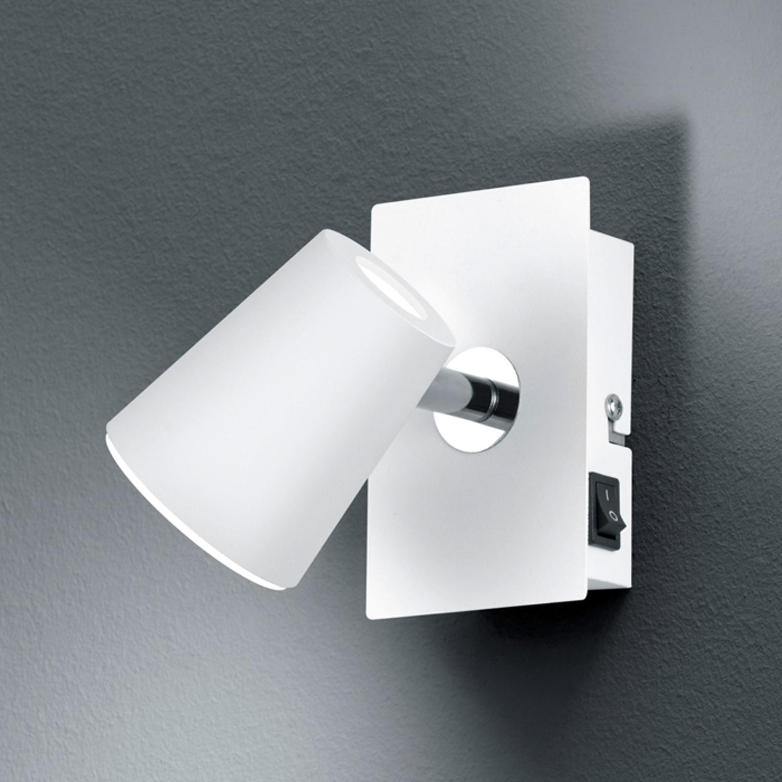 Valkoinen LED-seinäkohdevalaisin Narcos