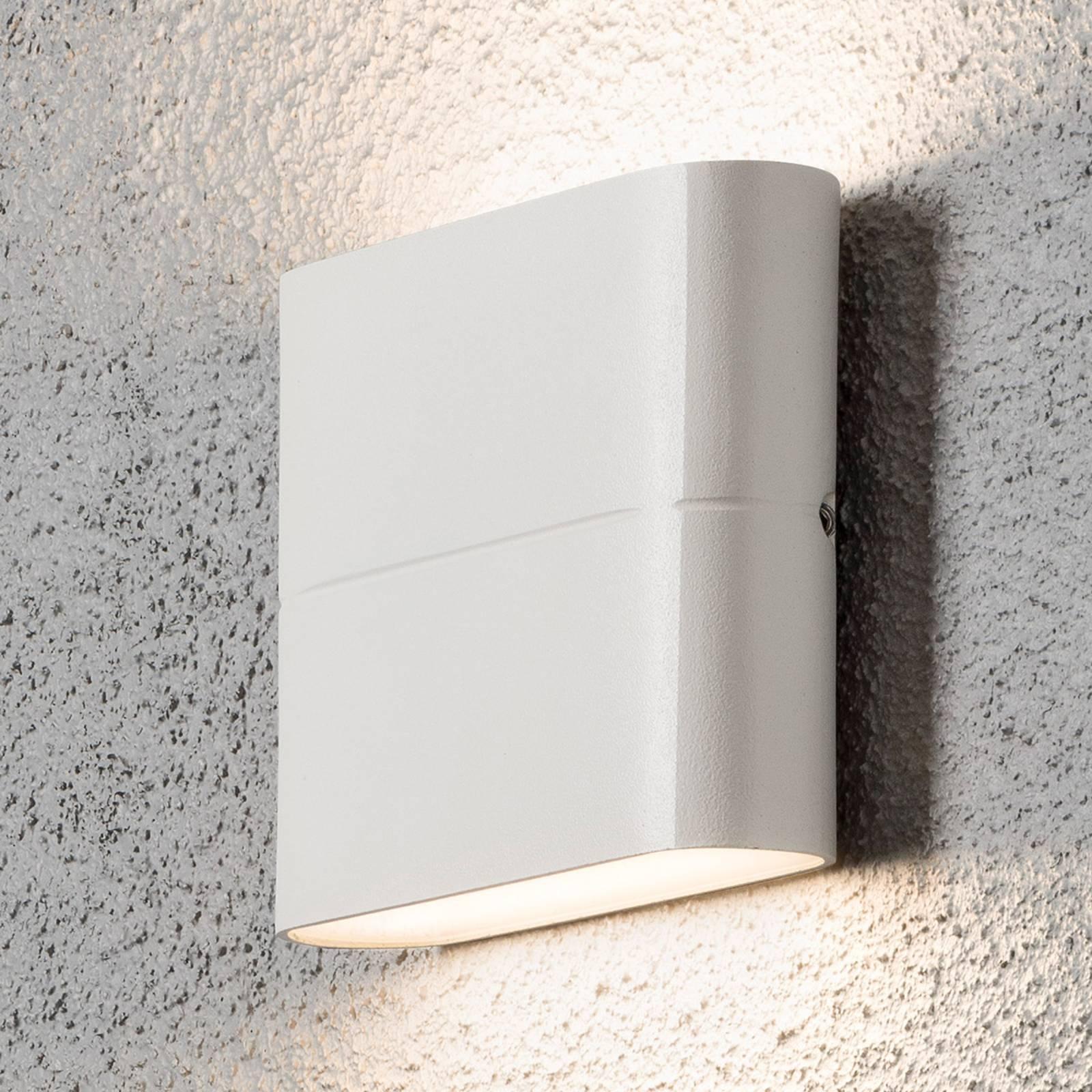 LED-ulkoseinälamppu Chieri 11 cm valkoinen