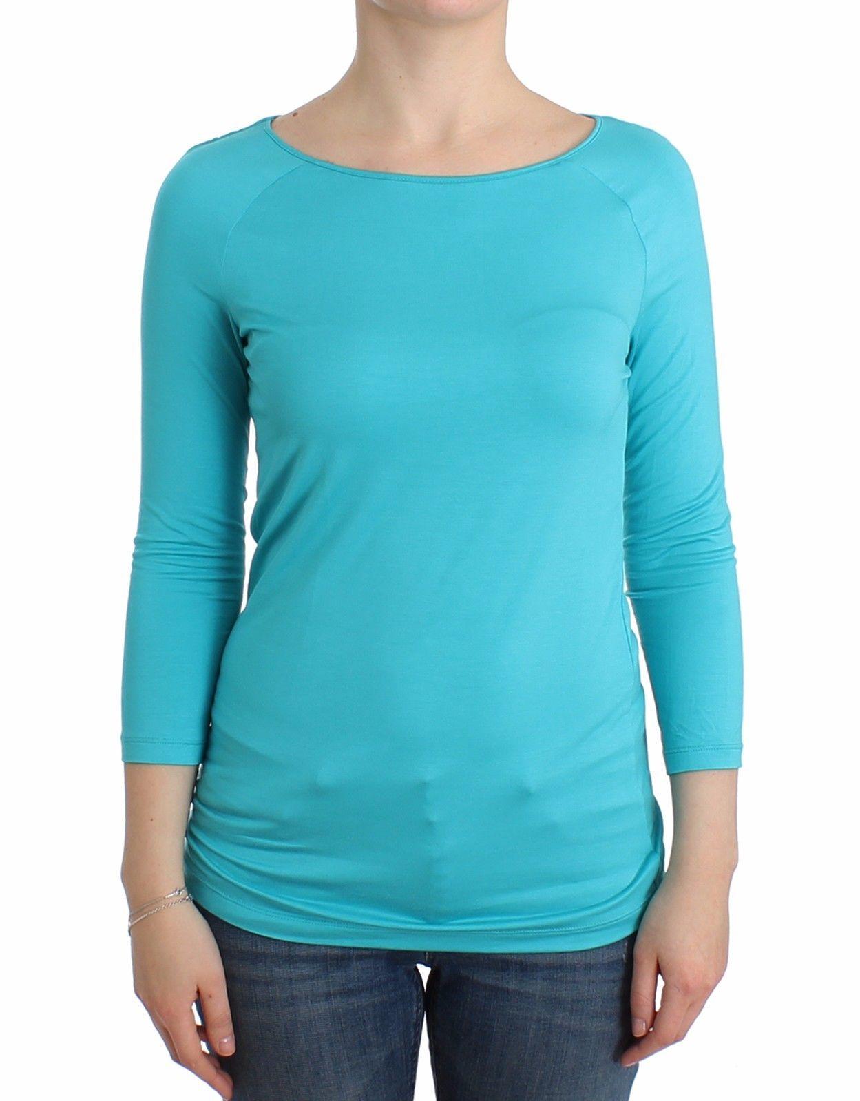 Ermanno Scervino Women's Sweater Blue SIG12009 - IT44 | M
