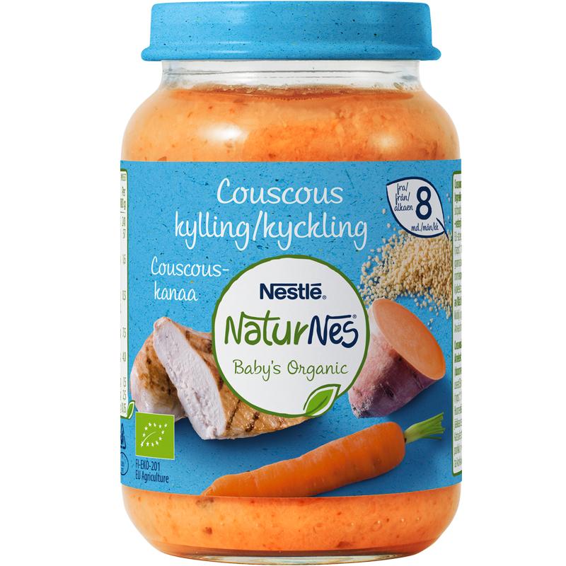 Luomu Lastenruoka Couscous & Kanaa - 8% alennus