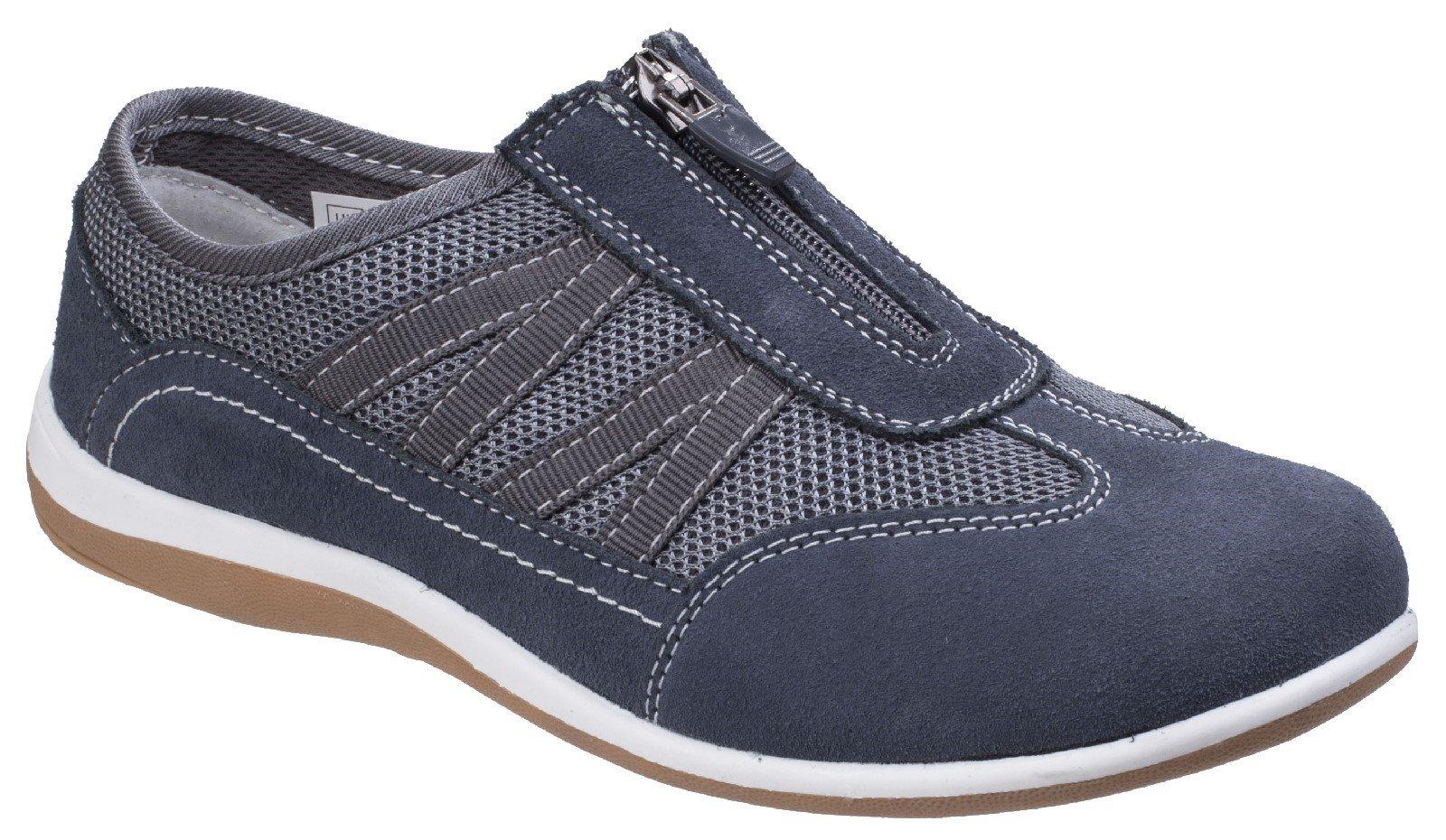 Fleet & Foster Women's Mombassa Comfort Trainer Various Colours 26306-43902 - Grey 3