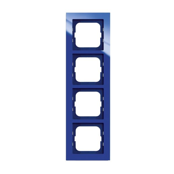 ABB Axcent Kombinasjonsramme blå 4 rom