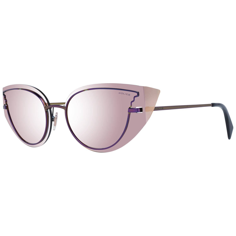 Police Women's Sunglasses Purple PL939 63H86X