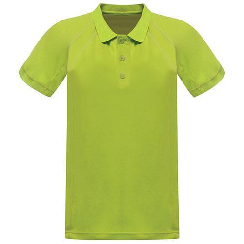 Regatta Men's Coolweave Polo Shirt Various Colours L_Regatta Coolweave - Key Lime M