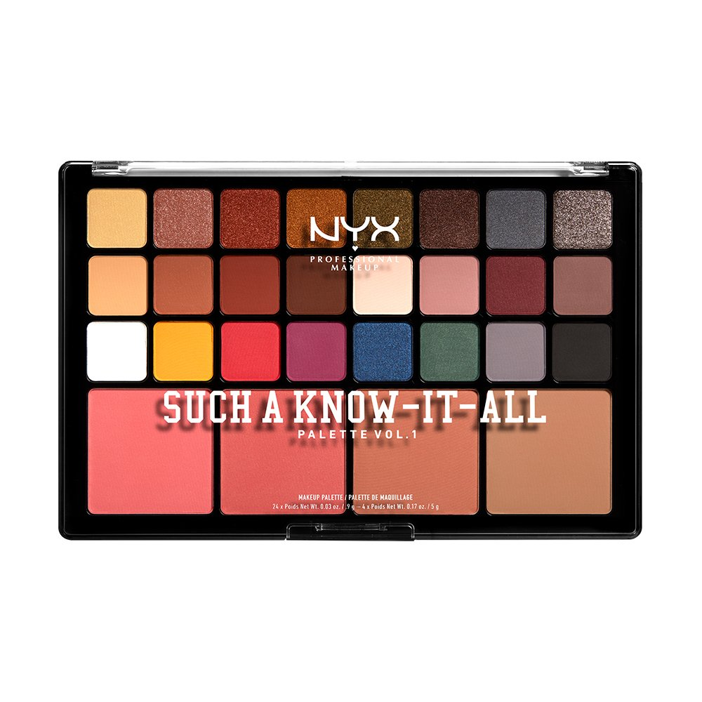 NYX Professional Makeup - Such A Know-It-All Shadow Palette