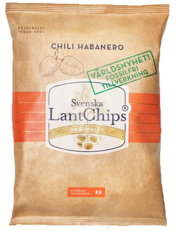 Lantchips Chili Habanero 200g
