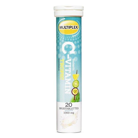 """C-vitamiini valmiste """"Tropical"""" 20 kpl - 50% alennus"""