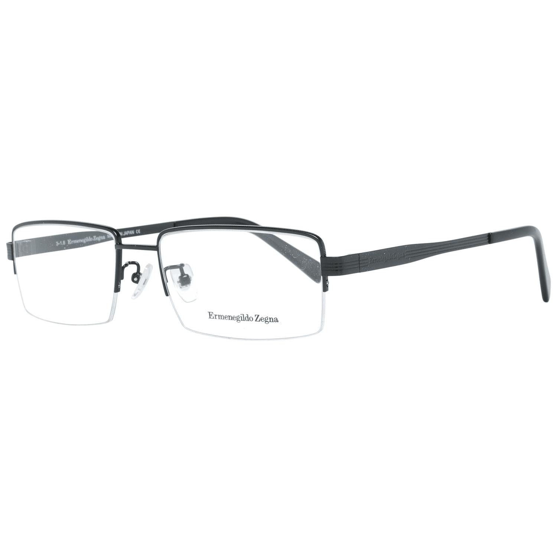 Ermenegildo Zegna Men's Optical Frames Eyewear Black EZ5065-D 55002