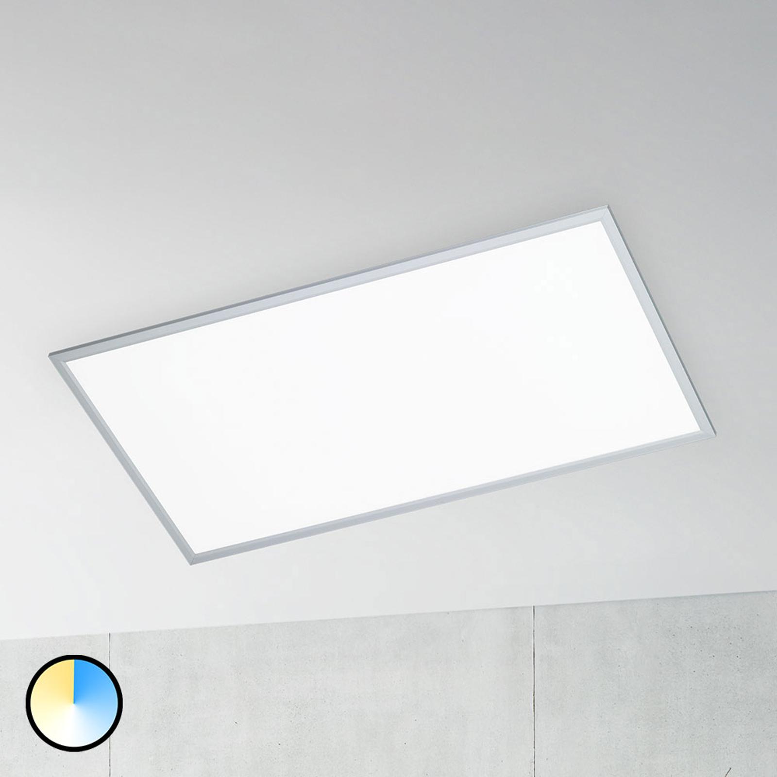 Himmennettävä LED-kattolamppu Liv ja kaukosäädin