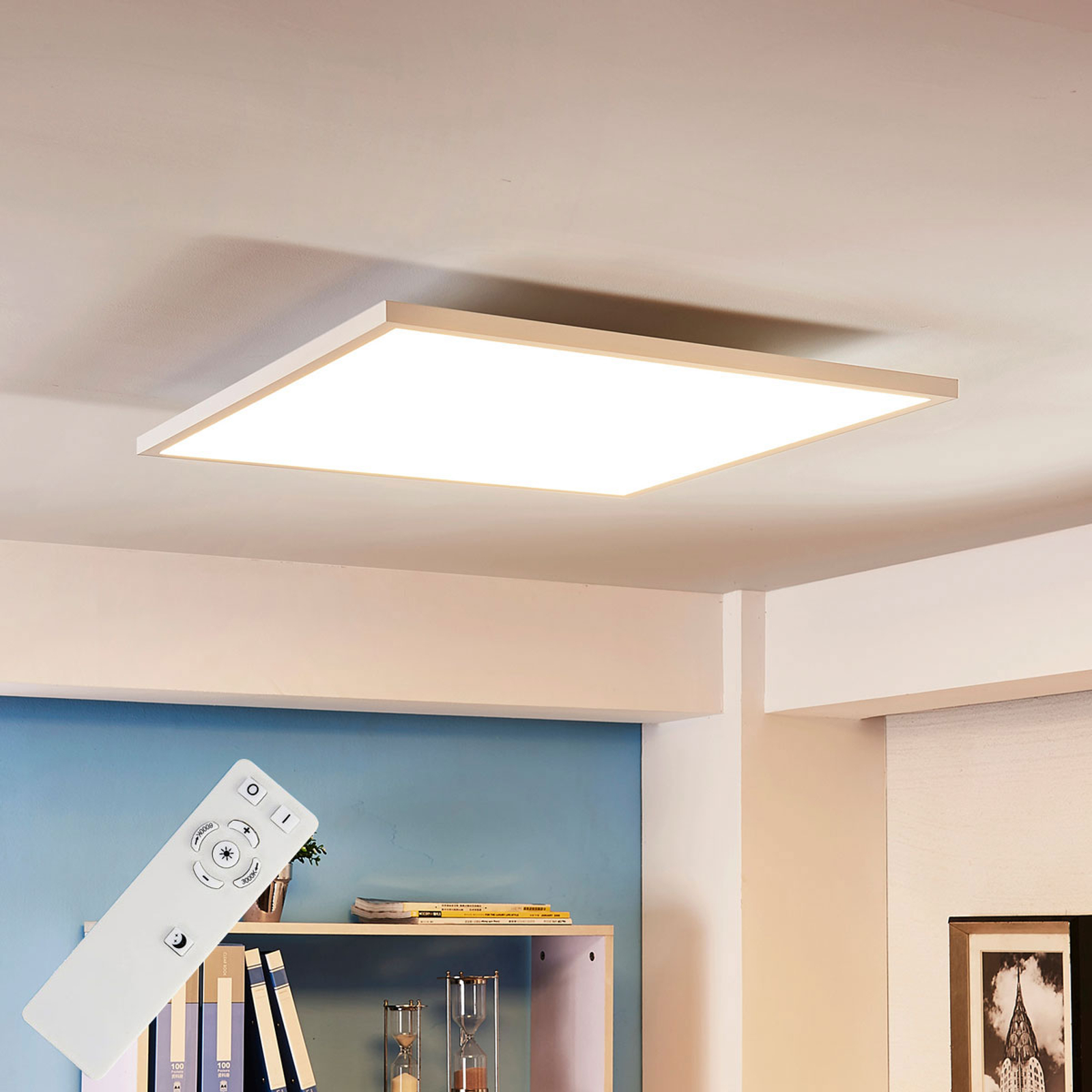 Arcchio Philia -LED-paneeli CCT, 59,5 cm x 59,5 cm