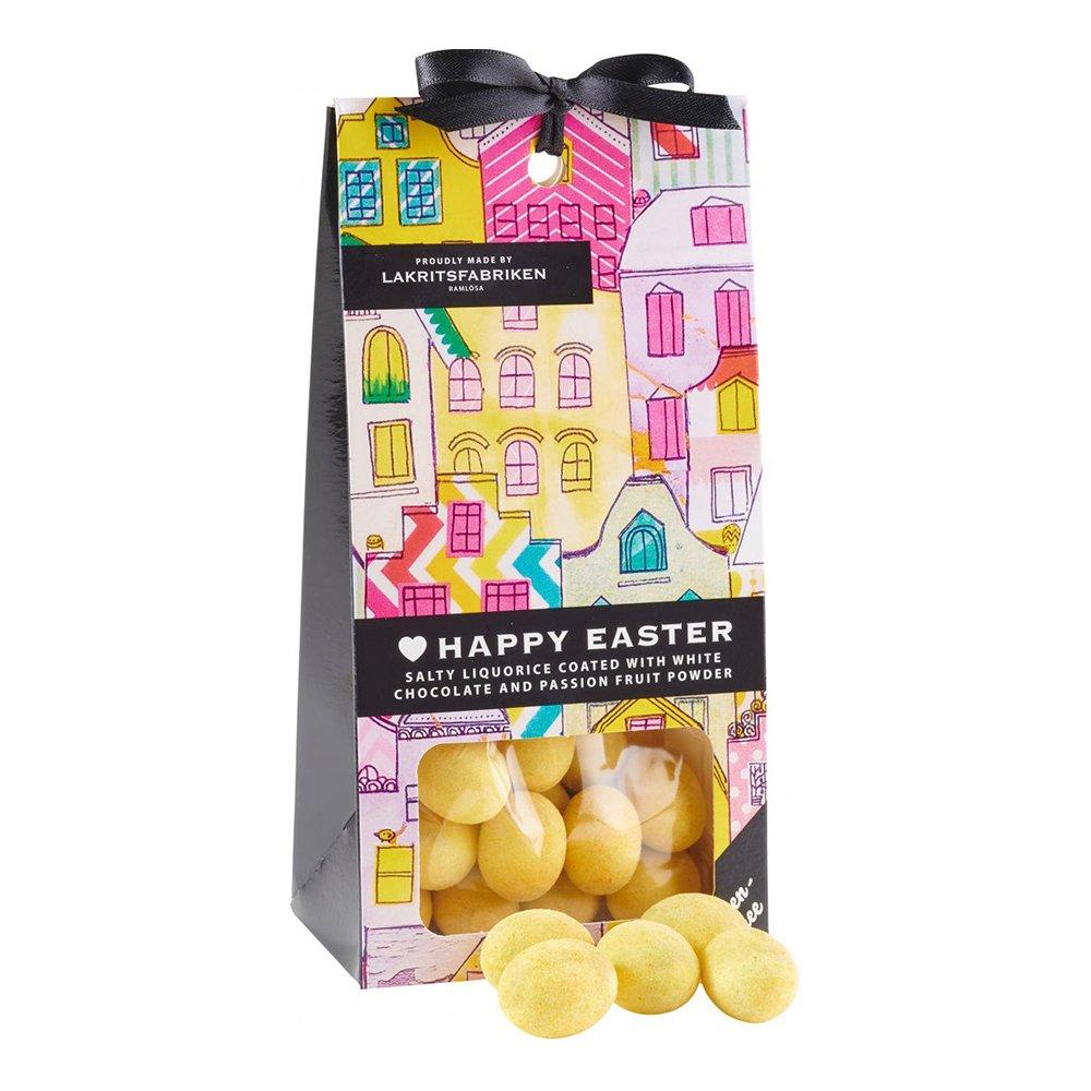 Happy Easter Lakrits/Vit Choklad - 125 gram