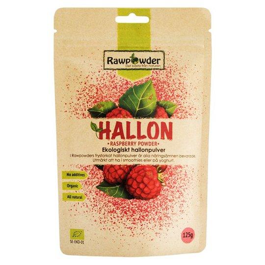 Rawpowder Ekologiskt Hallonpulver, 125 g
