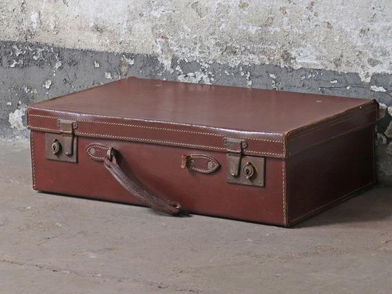 Leather Suitcase Medium