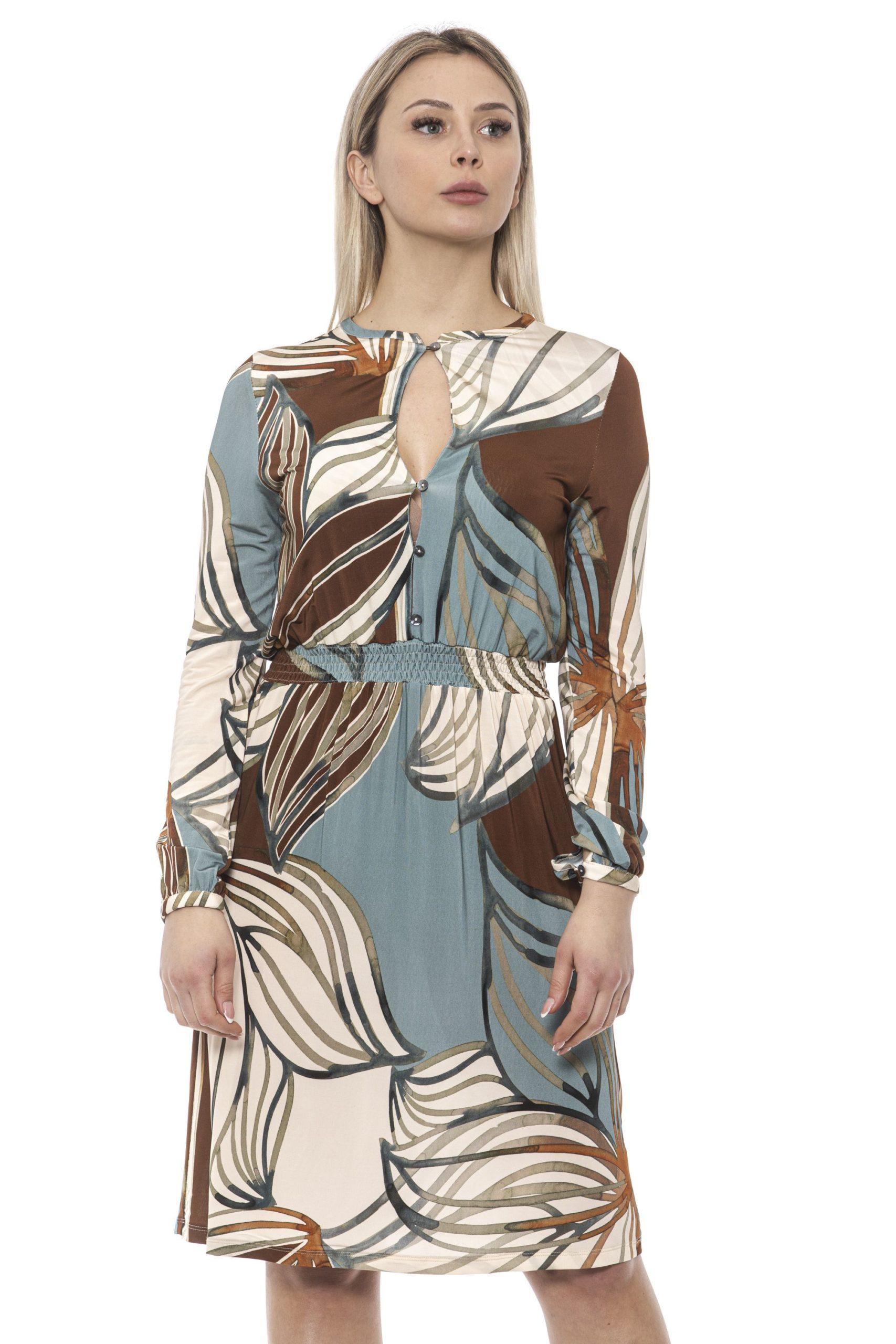 Alpha Studio Women's Tabacco Dress AL1374922 - IT40   XS