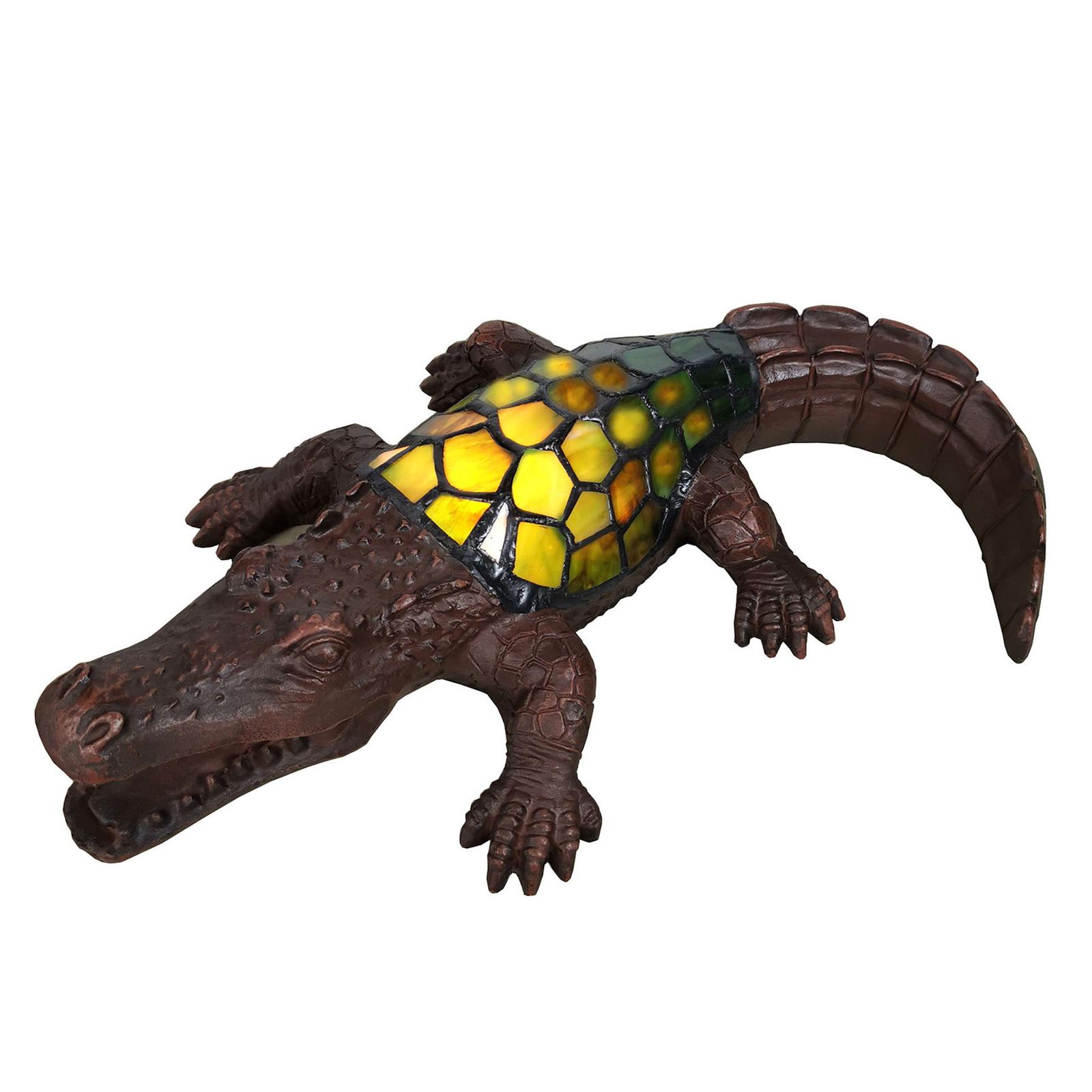 Koristevalaisin 6004, tiffany-krokotiili