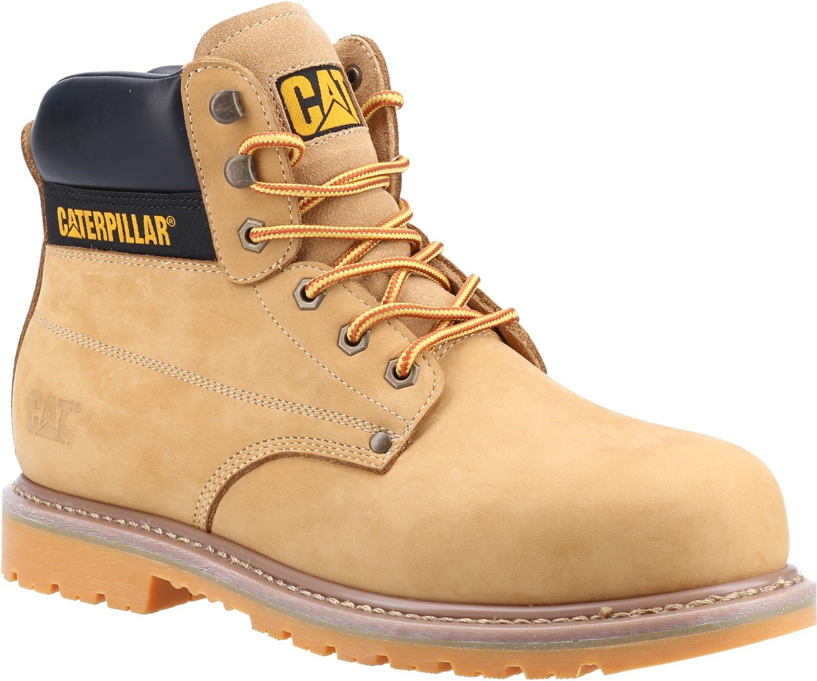 Caterpillar Unisex Powerplant S3 GYW Safety Boot Various Colours 32630 - Honey 6