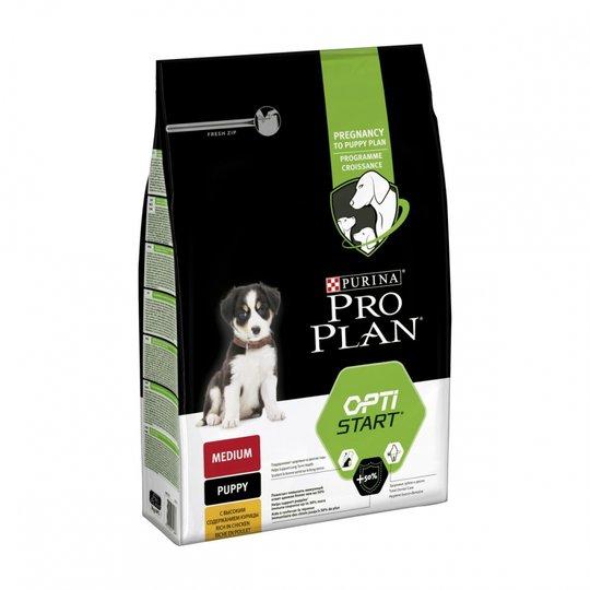 Purina Pro Plan® Dog OptiStart® Puppy Medium Chicken (3 kg)