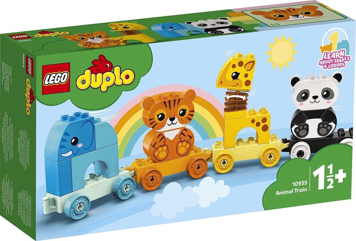 LEGO DUPLO 10955 Ensimmäinen Eläinjunani