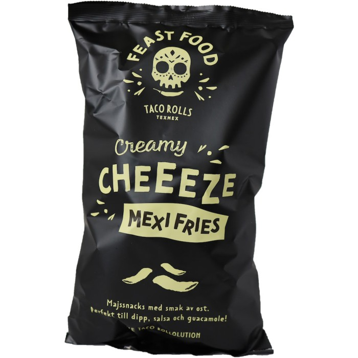 Feast Food Mexi Fries Creamy Cheeeze 125g